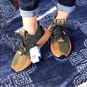 👟 ADIDAS ROSE GOLD GREEN PROPHENE SNEAKERS !